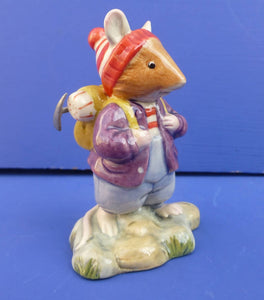 Royal Doulton Brambly Hedge Figurine Wilfred Toadflax DBH56 (Boxed)