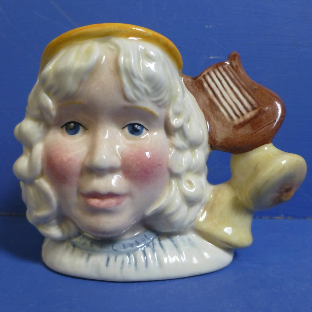 Royal Doulton Miniature Character Jug The Angel D7051