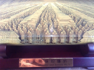 Chinese 3D Terracotta Army display piece