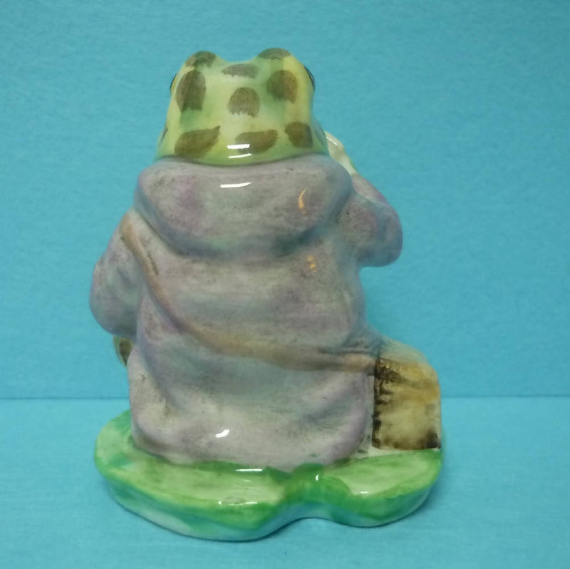 A Boxed Royal Albert Beatrix Potter Figurine Jeremy Fisher in Excellent Condition