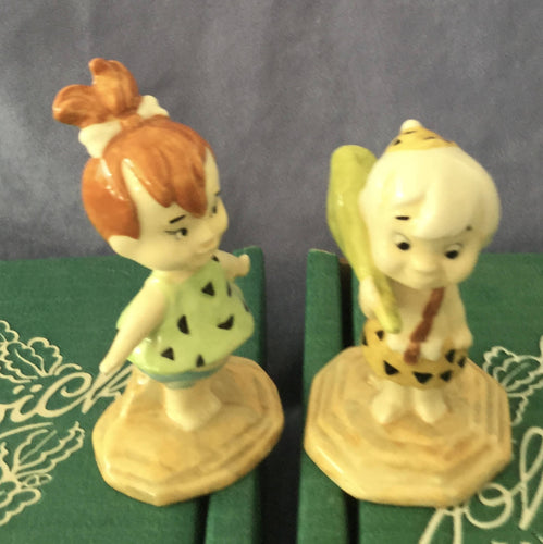 Beswick The Flintstones Peebles Flintstone and Bamm Bamm Rubble 1997 Limited Edition Boxed