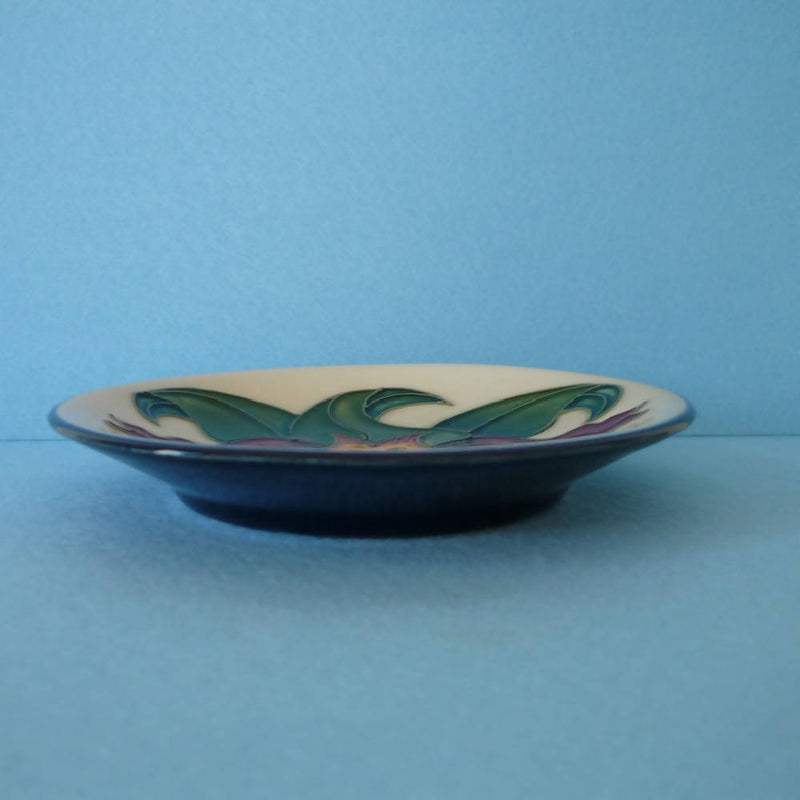 Boxed Moorcroft Pin Dish in the Anna Lily Design