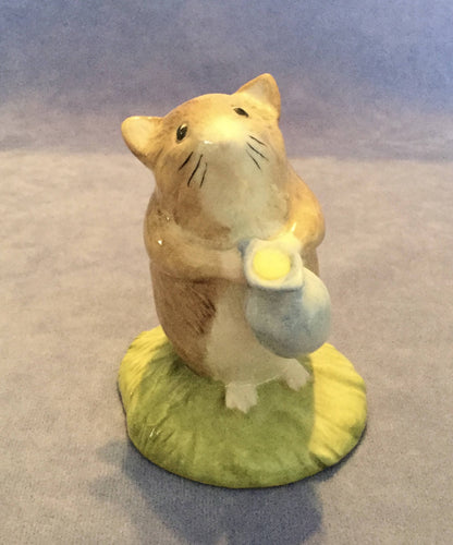 Beswick Beatrix Potter Mouse Figure Timmy Willie Fetching Milk