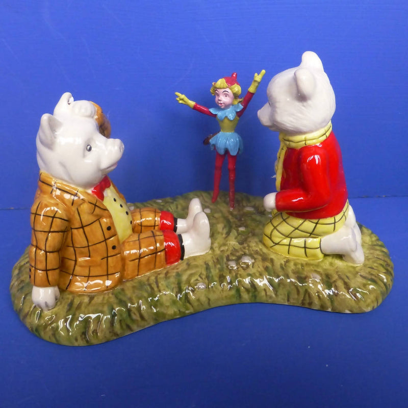 Royal Doulton Limited Edition Rupert The Bear Figurine The Imp Of Spring (Boxed)