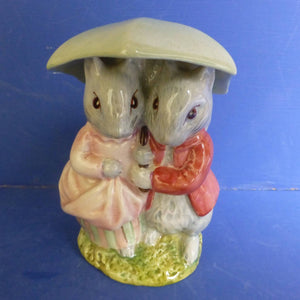 Beswick Beatrix Potter Figurine Goody and Timmy Tiptoes BP3C