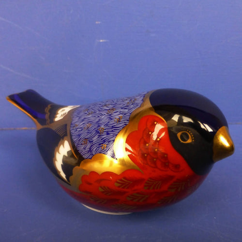 Royal Crown Derby Paperweight Bullfinch (Boxed)