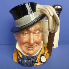 Royal Doulton Large Limited Edition Character Jug Mr Micawber
