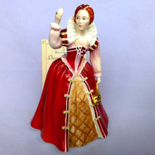 Royal Doulton Limited Edition Queens of The Realm Figurine - Queen Elizabeth 1 HN3099
