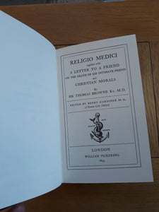 Religio Medici, by Browne