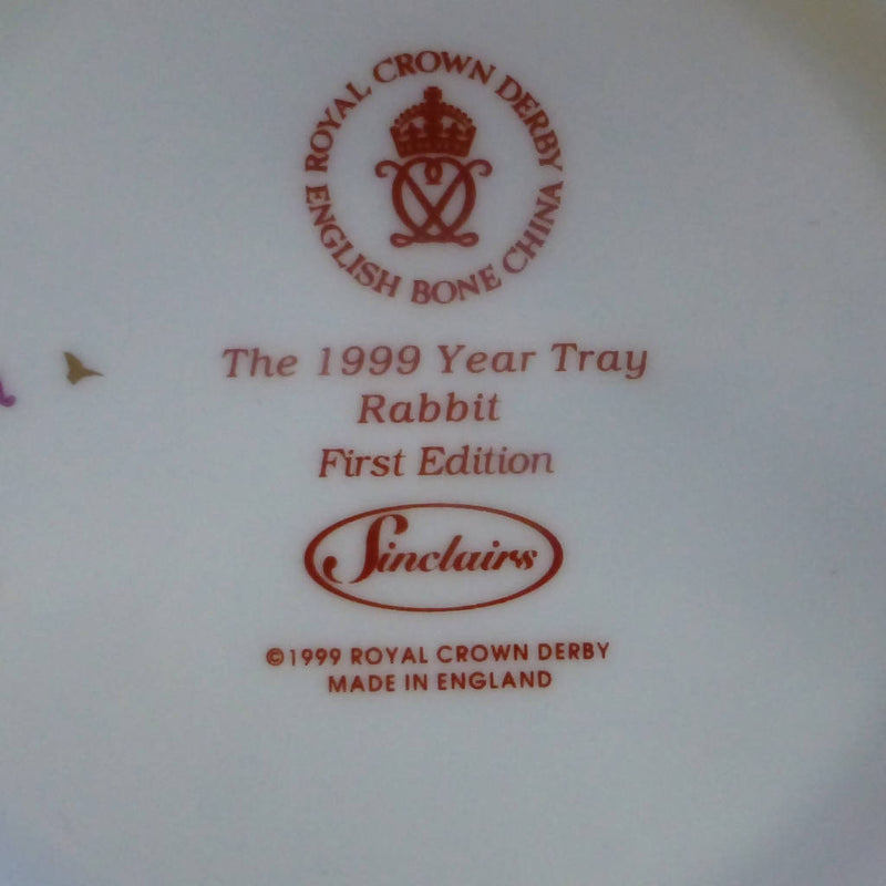Royal Crown Derby Old Imari Rabbit Tray (Boxed)