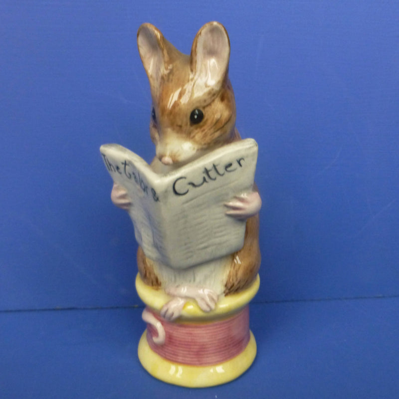Royal Albert Large Beatrix Potter Figurine Tailor Of Gloucester
