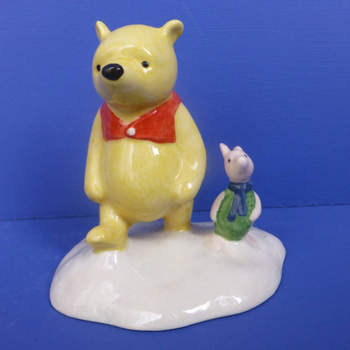 Royal Doulton Winnie The Pooh Figurine The More It Snows Tiddly Pom WP20 (Boxed)