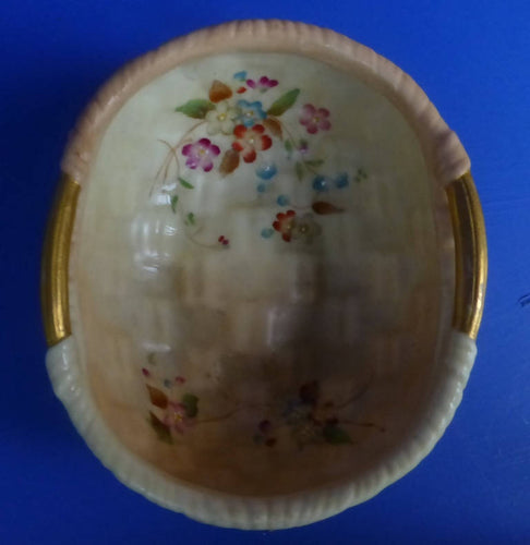 Royal Worcester Blush Ivory Bowl C1906