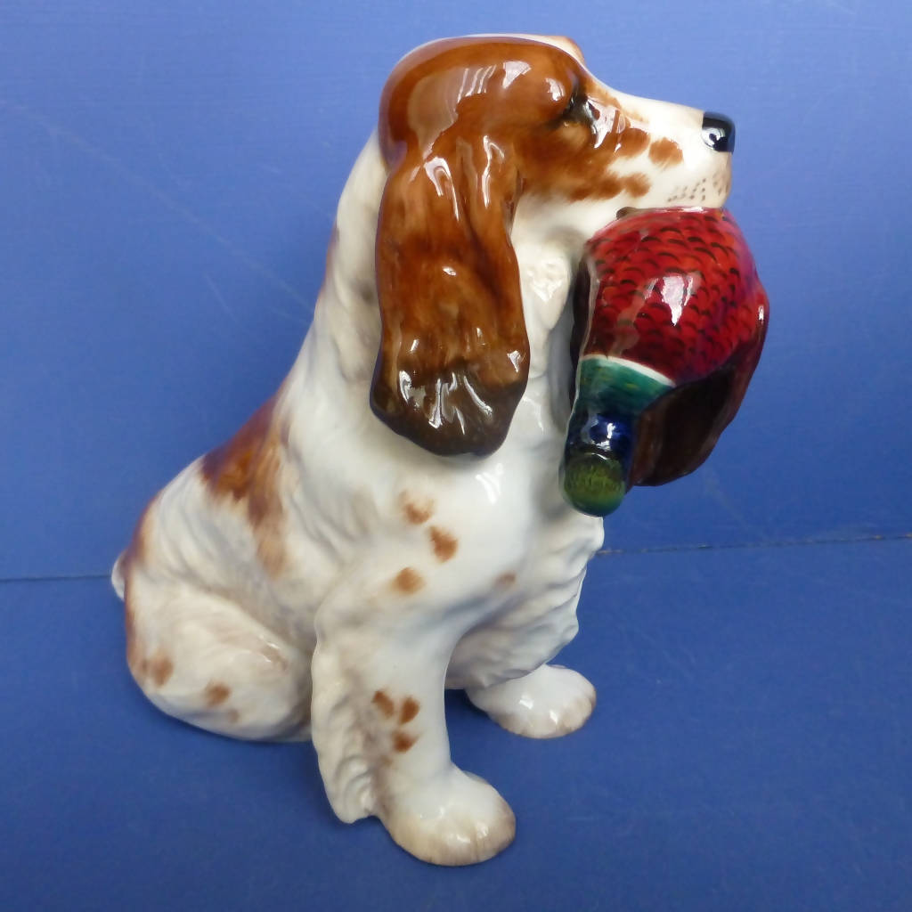 Royal Doulton Cocker Spaniel And Pheasant Dog (Large) Model No HN1001