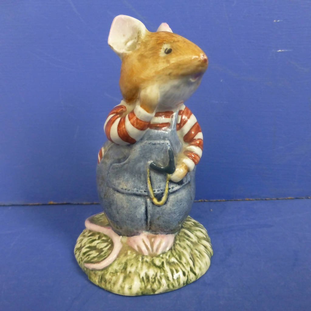 Royal Doulton Brambly Hedge Figurine - Wilfred Toadflax DBH7
