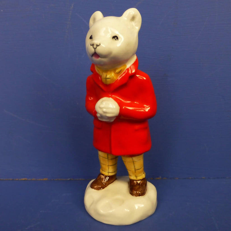 Beswick Rupert Bear Figurine - Snowballing Model Number 2779
