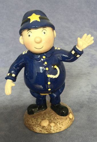 Royal Worcester Mr PC Plod from Noddy Police Officer figure