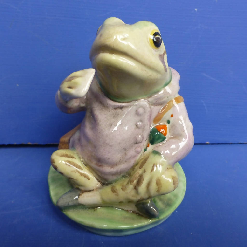 Royal Albert Beatrix Potter Figurine - Jeremy Fisher (Boxed)