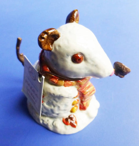 Royal Doulton Brambly Hedge Figurine Let's Make A Snowmouse DBH67 (Boxed)