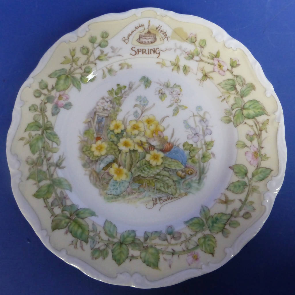 Royal Doulton Brambly Hedge Tea Plate Spring