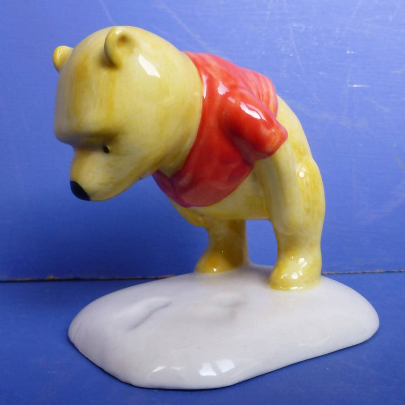 Royal Doulton Winnie the Pooh Figurine - Winnie Pooh and The Paw-Marks - WP3 - 70th Anniversary Edition (Boxed)