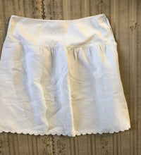 Antique french beautiful weight decorative underskirt skirt size 10