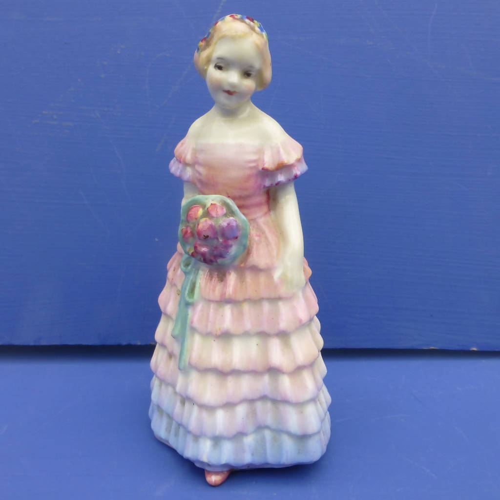 Royal Doulton Miniature Figurine - Little Bridesmaid M11
