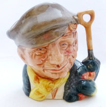 Royal Doulton Miniature Character Jug The Gardener D6638
