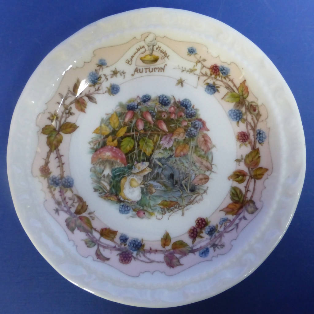 Royal Doulton Brambly Hedge Coaster Autumn