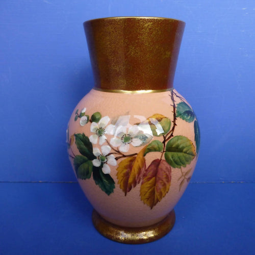 James McIntyre Winter Rose Vase C1860