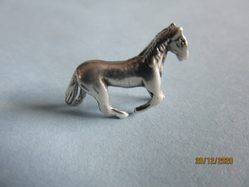 English Hallmarked Sterling Silver Miniature Horse Pony