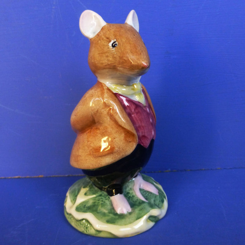 Royal Doulton Brambly Hedge Figurine - Lord Woodmouse DBH4 (Boxed)