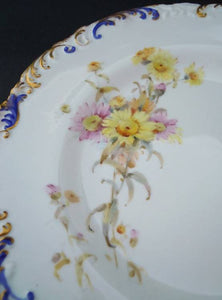 Antique Royal Crown Derby plate 1, 1897