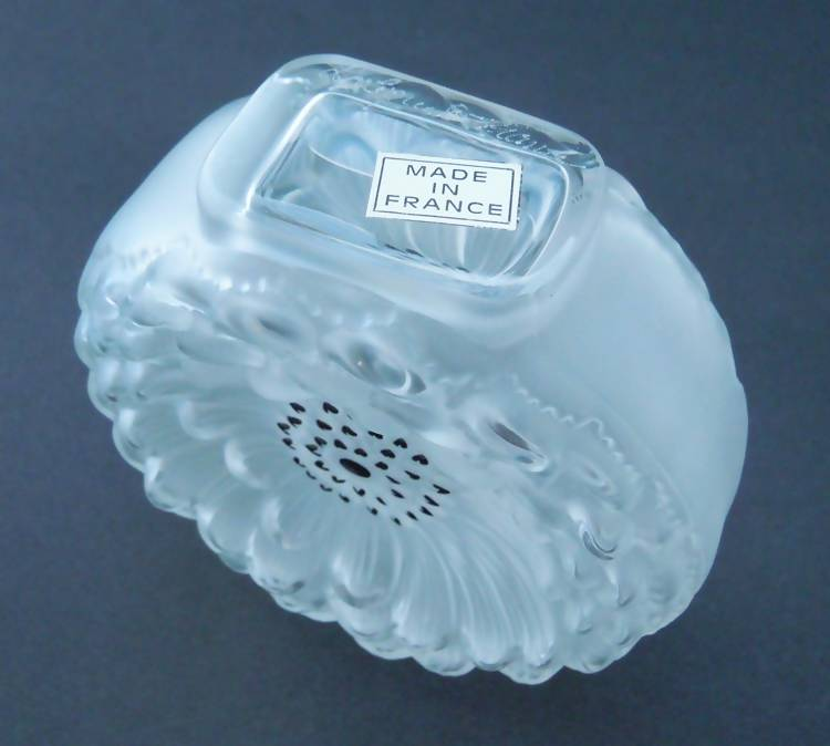 "Lalique ""Dahlia"" perfume bottle"