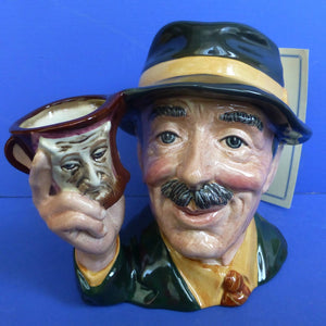 Royal Doulton Large Limited Edition Character Jug The Collector D6796 (Boxed)