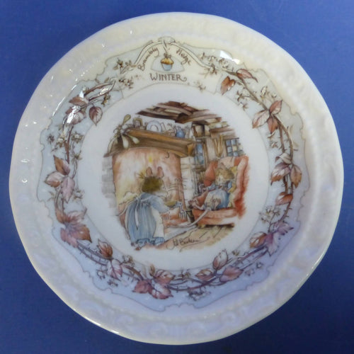Royal Doulton Brambly Hedge Coaster Winter