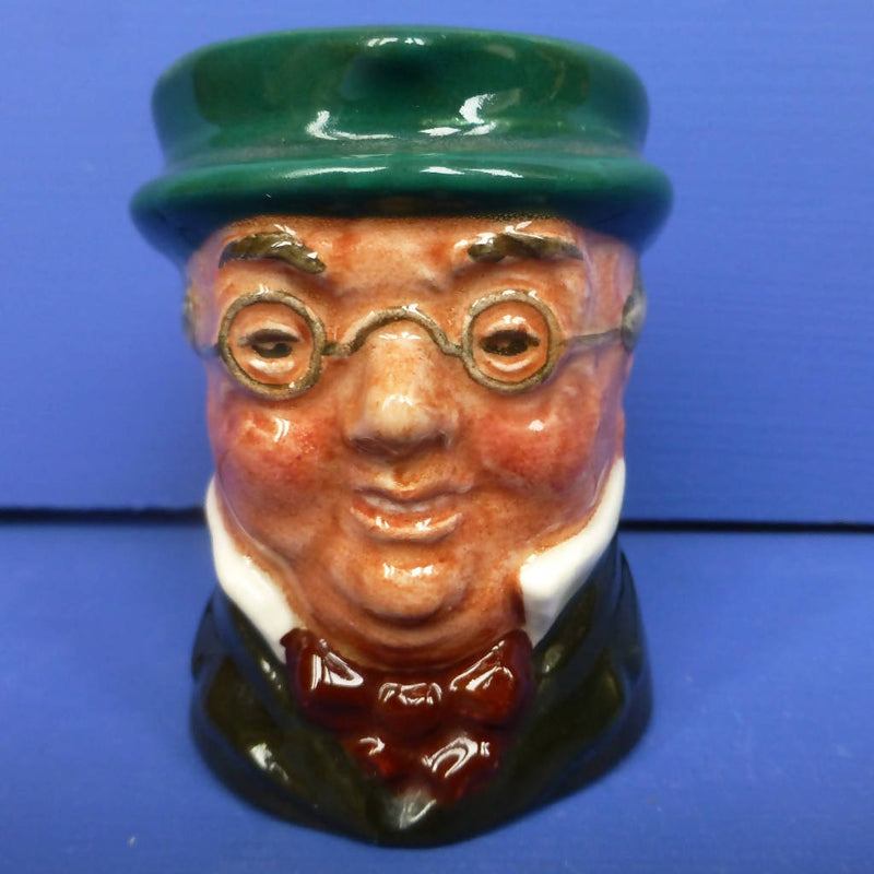 Royal Doulton Miniature Character Jug - Mr Pickwick D6254