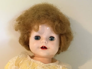 Vintage Pedigree Princess Doll Hard Plastic 1950's 15""