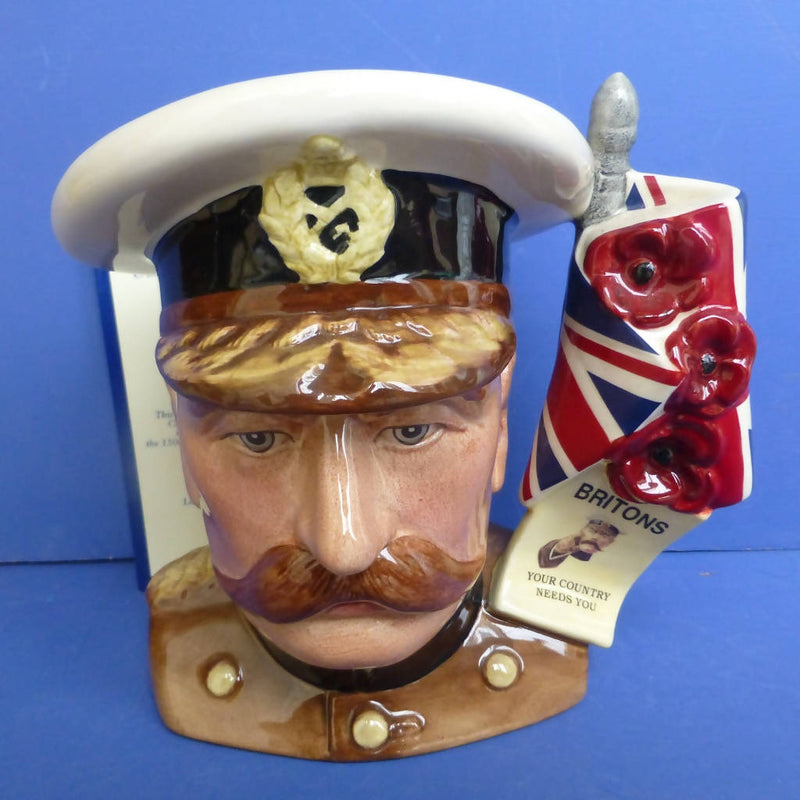 Royal Doulton Limited Edition Large Character Jug Lord Kitchener D7148