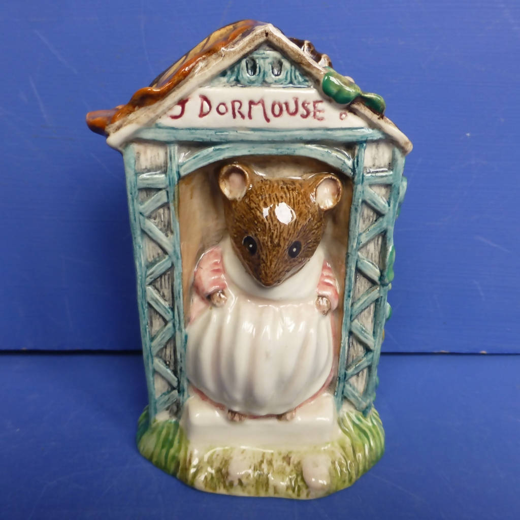 Royal Albert Beatrix Potter Figurine - Miss Dormouse (Boxed)