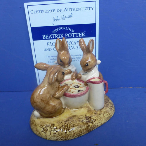 Beswick Limited Edition Flopsy, Mopsy and Cottontail (Boxed)