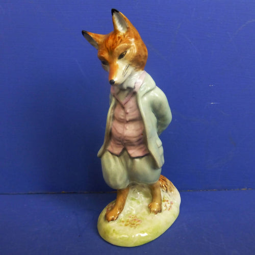 Beswick Beatrix Potter Figurine Foxy Whiskered Gentleman (Gold Backstamp) BP2