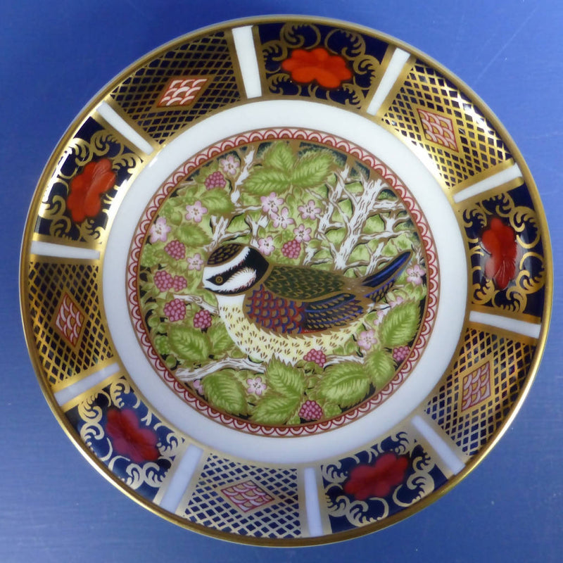 Royal Crown Derby Old Imari Blue Tit Tray (Boxed)