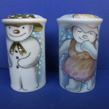 Royal Doulton Snowman Salt And Pepper