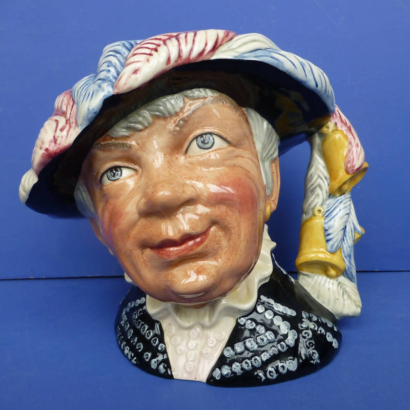Royal Doulton Large Character Jug Pearly Queen D6759