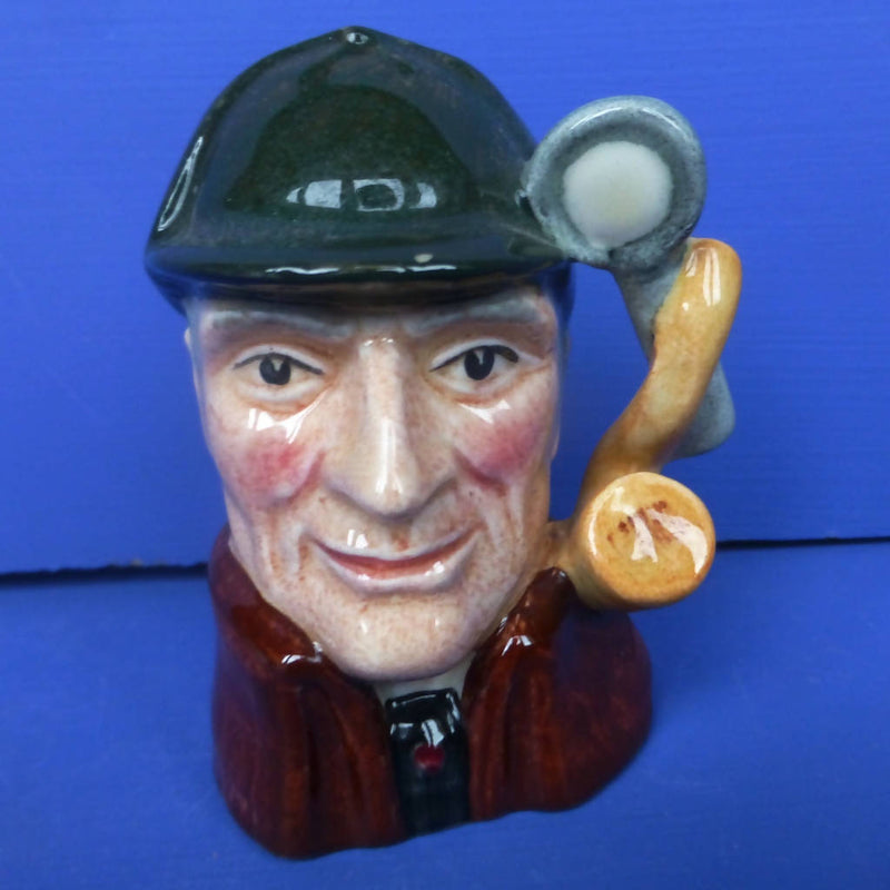 Royal Doulton Miniature Character Jug - The Sleuth D6639