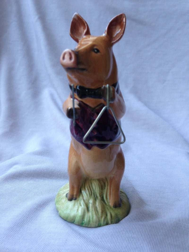 Beswick Pig Promenade. James. Triangle PP7. Tamworth piglet.