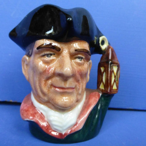 Royal Doulton Miniature Character Jug Night Watchman D6583
