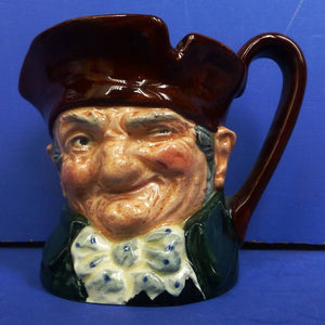 Royal Doulton Small Character Jug Old Charley D5527
