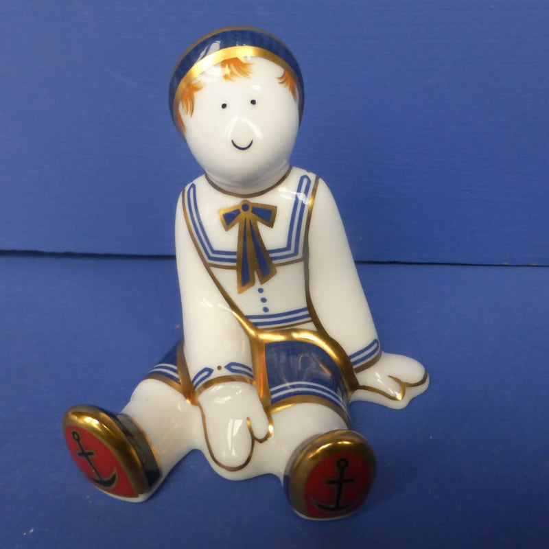 Royal Crown Derby Treasures Of Childhood Ragdoll Sailor (Boxed)